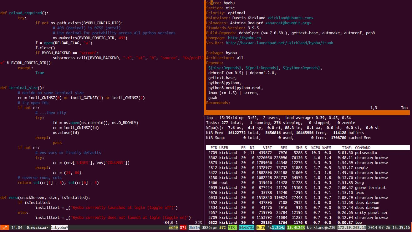 آموزش نصب و استفاده از دستور Screen در لینوکس